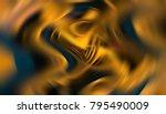 abstract orange elegant... | Shutterstock . vector #795490009
