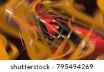 abstract orange elegant... | Shutterstock . vector #795494269