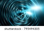 abstract neon background with... | Shutterstock . vector #795494305