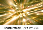 abstract gold background.... | Shutterstock . vector #795494311