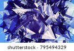 abstract background blue... | Shutterstock . vector #795494329