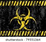 Grunge Biohazard Sign...