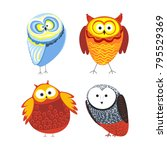 owls cartoon kid funny...