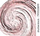 rose pink and white 3d swirly... | Shutterstock .eps vector #795533899