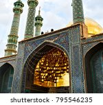 blur in iran  and old antique... | Shutterstock . vector #795546235