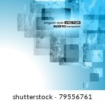 abstract business or corporate... | Shutterstock .eps vector #79556761