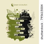 preservation of the environment ... | Shutterstock .eps vector #795615004