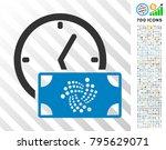 iota banknote credit time... | Shutterstock .eps vector #795629071