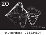 abstract vector futuristic... | Shutterstock .eps vector #795634804