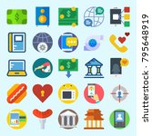 icons set about lifestyle. with ... | Shutterstock .eps vector #795648919