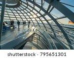 berlin  germany   january 14..... | Shutterstock . vector #795651301