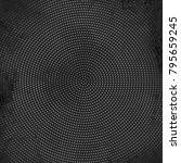 banner squares gray. poster... | Shutterstock .eps vector #795659245