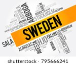 list of cities and towns in... | Shutterstock .eps vector #795666241