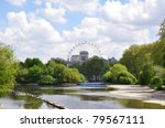 St James Park In London View T...