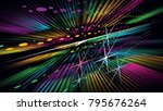 abstract background with multi... | Shutterstock .eps vector #795676264