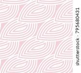 geometric seamless pattern.... | Shutterstock .eps vector #795680431