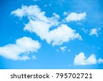 blue sky clouds and background.   Shutterstock . vector #795702721