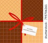 vector illustration set of... | Shutterstock .eps vector #795706261