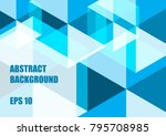 abstract background  vector... | Shutterstock .eps vector #795708985