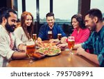 leisure  food and drinks ... | Shutterstock . vector #795708991