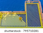 offshore personnel worked as a...   Shutterstock . vector #795710281