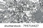 urban vector city map of... | Shutterstock .eps vector #795714427