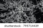 urban vector city map of... | Shutterstock .eps vector #795714439