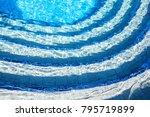 Underwater Scene Of Pool Stairs