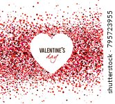 valentine's day. vector | Shutterstock .eps vector #795723955