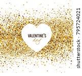 valentine's day. vector | Shutterstock .eps vector #795724021