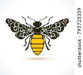 Vector Illustration Bee  ...