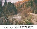 magnificent natural landscapes... | Shutterstock . vector #795725995