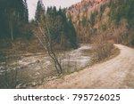 magnificent natural landscapes... | Shutterstock . vector #795726025
