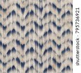abstract chevron motif... | Shutterstock . vector #795736921