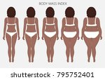 vector illustration body mass... | Shutterstock .eps vector #795752401