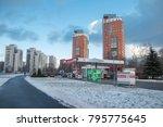 riga  latvia   january 8  2018  ... | Shutterstock . vector #795775645