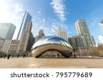 chicago   circa january 2018 ... | Shutterstock . vector #795779689