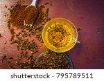 tea of clove syzygium... | Shutterstock . vector #795789511