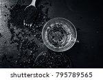 tea of clove syzygium... | Shutterstock . vector #795789565