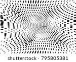 abstract halftone dotted grunge ... | Shutterstock .eps vector #795805381