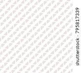 vector geometric seamless... | Shutterstock .eps vector #795817339