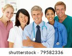 portrait of medical...   Shutterstock . vector #79582336