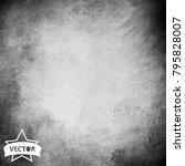 vector grunge texture backgorund   Shutterstock .eps vector #795828007