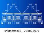 building home vector | Shutterstock .eps vector #795836071