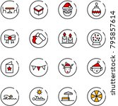 Line Vector Icon Set   Cafe...