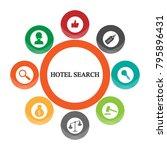 business infographics. pie... | Shutterstock .eps vector #795896431