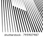 modern pattern with lines... | Shutterstock .eps vector #795907987