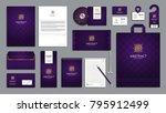 corporate identity branding... | Shutterstock .eps vector #795912499