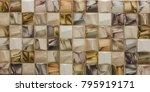mosaic  ceramic kitchen tile ...   Shutterstock . vector #795919171