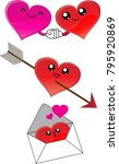 3 valentine's day vector cute...
